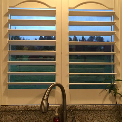 Kitchen Window Shutters