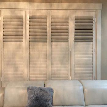 Clear View Door Shutters