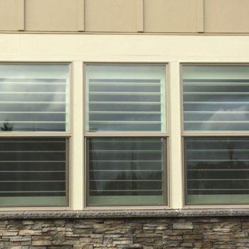 Clear View Window Shutters