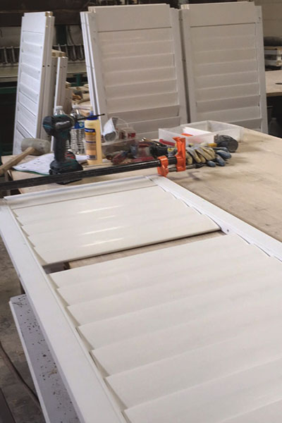 Assembling Plantation Shutters in Vancouver WA