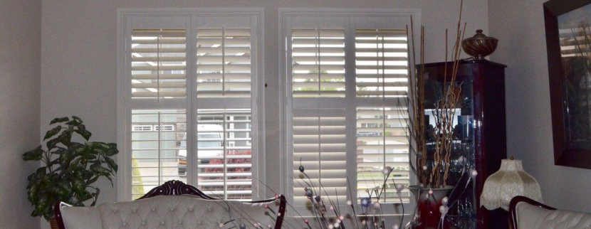 Living Room Shutter Blinds
